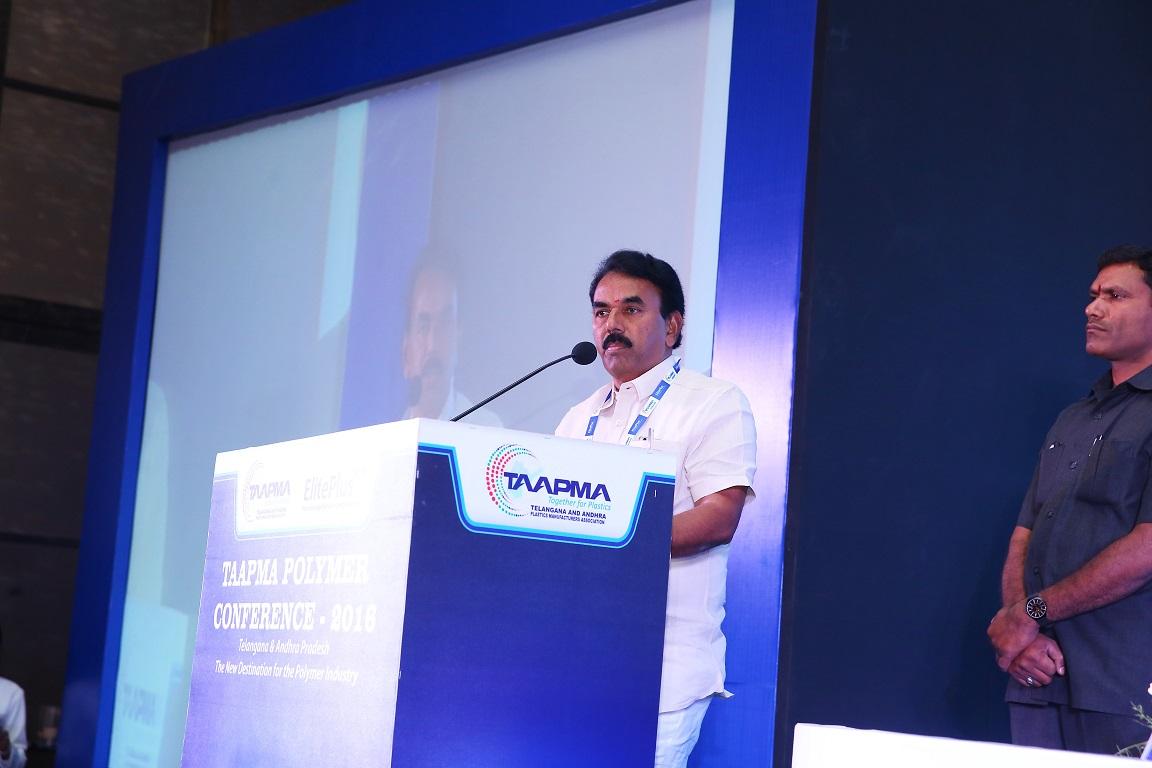 TAAPMA Polymer Conference - 2016 ( Jupally Krishna Rao Minister Govt of Telangana )